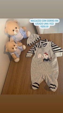 Roupinhas e acessórios bebê menino - Foto 3
