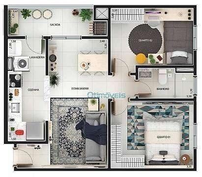 Vendo lindo apartamento no Eco Village Parque da Fonte - Foto 5