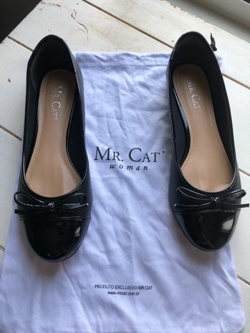 Sapatilha Mr. Cat - Tamanhi 35 - Preta - Foto 2