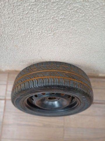 Pneu Ford completo aro 185/ 60R14 - Foto 4
