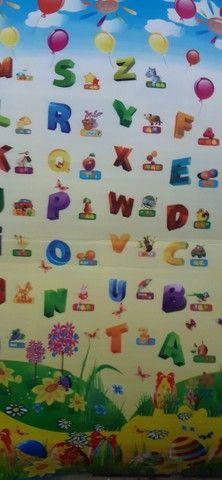 Tapete infantil- medidas:  1.80 x 1.00- grátis  bolsa - Foto 2