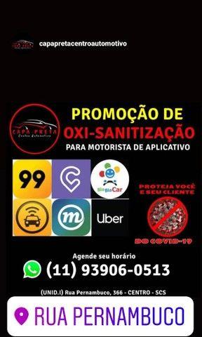 Promoção de Oxi-Sanitização para Motorista de Aplicativo