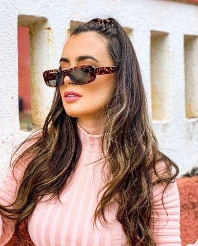 Óculos super na moda compre sem sair de casa com proteção uv400 super resistente - Foto 2