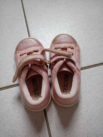 Lote calçado menina