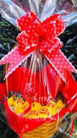 Cestas de café da manhã e cestas de chocolates  - Foto 6