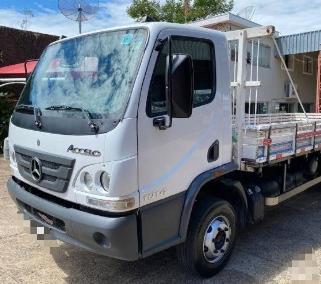 Accelo carroceria 1016 - 2015 R$16.000