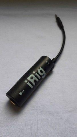 IRig interface de áudio para celular.  A PRONTA ENTREGA