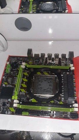 Kit gamer com 16 GB RAM, processador E5 2620, placa de vídeo 2GB e ssd 120 gb - Foto 2