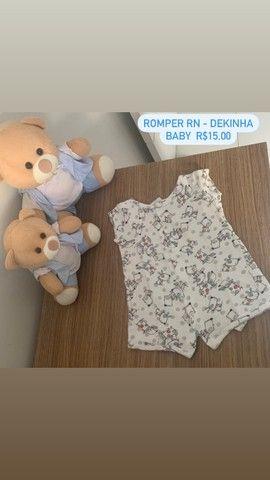 Roupinhas de bebê menino RN e P - Foto 3