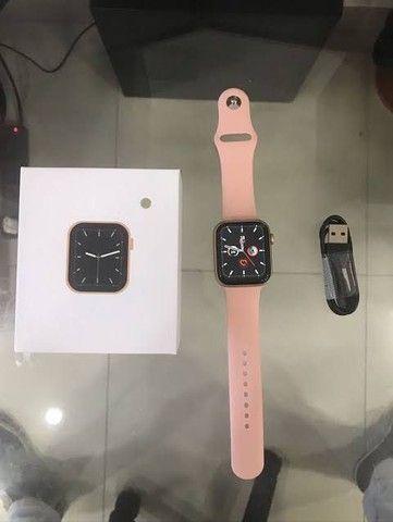 Relógio digital Smartwatch w26 IWO 12 lite 40 mm relógio que faz chamadas telefônicas - Foto 3