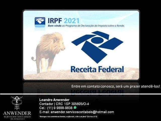 Declaração do Imposto de Renda - IRPF (Contador com WhatsApp)