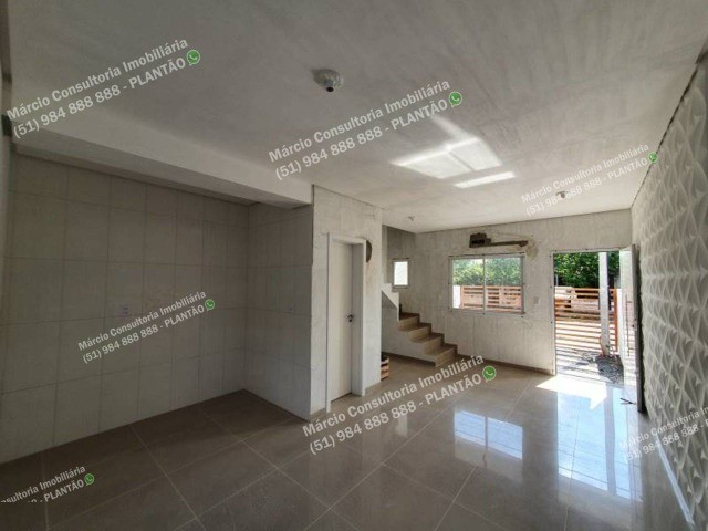 Sobrados 2 Dormitórios Excelente Padrão Construtivo Santa Cruz Gravataí! - Foto 8