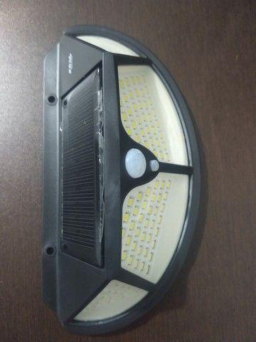 Luminária solar 3 funções - Foto 2
