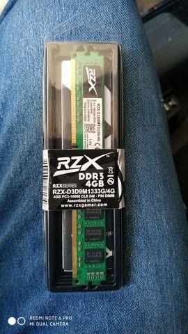 Memória Ram 4Gb 1333mhz, Original RZx - Foto 3