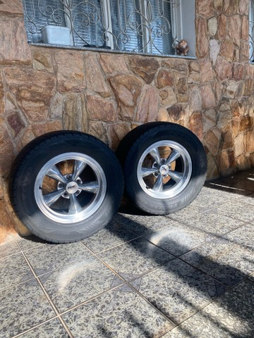 Rodas Maverick opala carros antigos  - Foto 2
