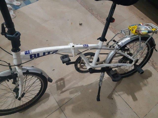 Bicicleta blitz seminova - Foto 4