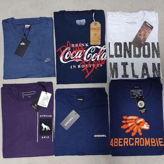 Camisetas masculinas R$ 49,99. Qualquer peça. - Foto 5