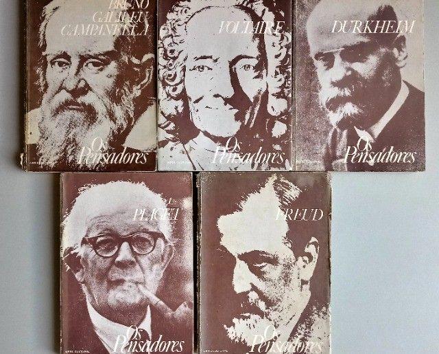 Coleção os Pensadores 1978 5 volumes - Relíquias  - Foto 5