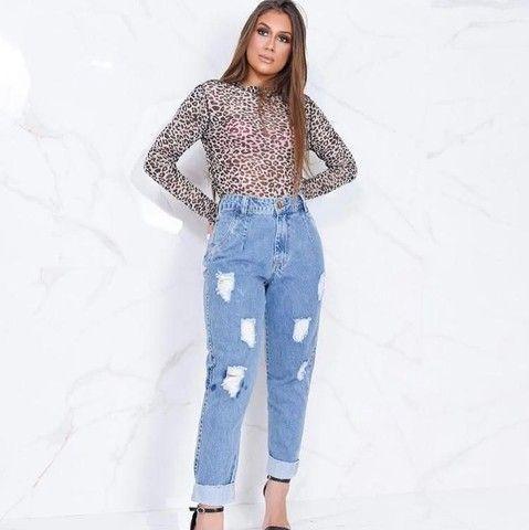 Calça jeans feminina entrega grátis - Foto 5