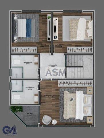 Sobrado com 2 dormitórios à venda por R$ 240.000 - Velha - Blumenau/SC - Foto 7