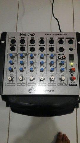 Mesa de som nanomix 7 canal 320 - Foto 2