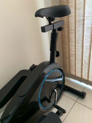 Elíptico bike Podium Magnético 8 cargas - Foto 5