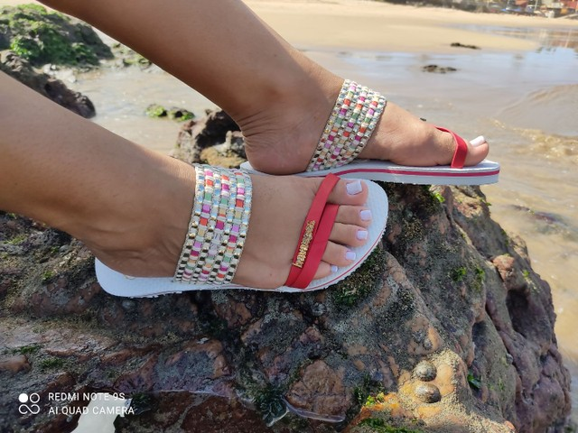 Havaianas de luxo para acabar  - Foto 6