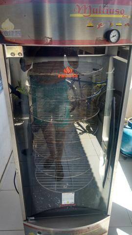 Maquina de assar frango peixe carne pizza e ect