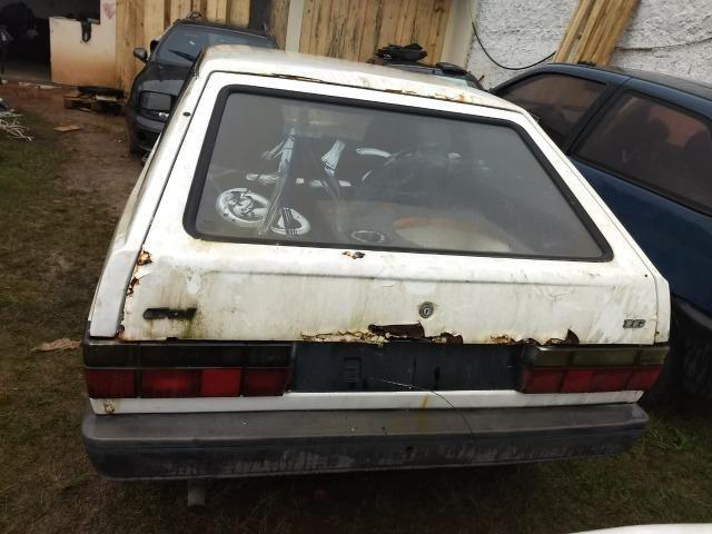 VW Gol Cl 1.0 Cht 1992 Sucata Em Peças Acessorios e Lataria - Foto 3