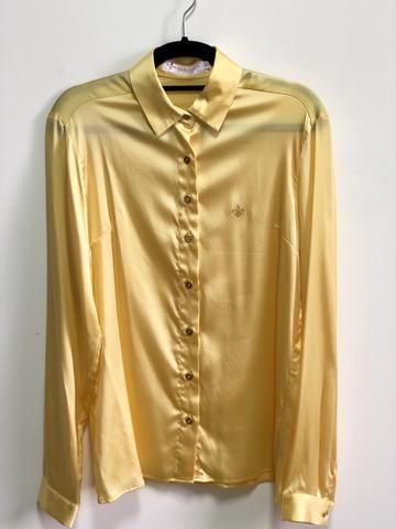 6176c1f726 Camisa Dudalina Original Seda