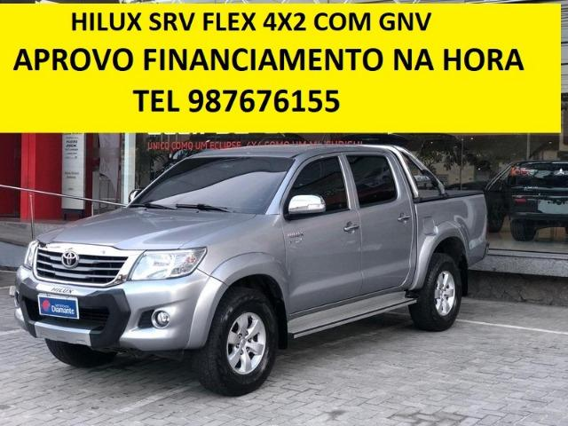 Toyota Hilux Srv Flex c/ Gnv - Foto 2