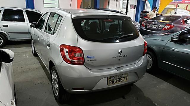 Renault Sandero Authentique - Com Gnv - Foto 6