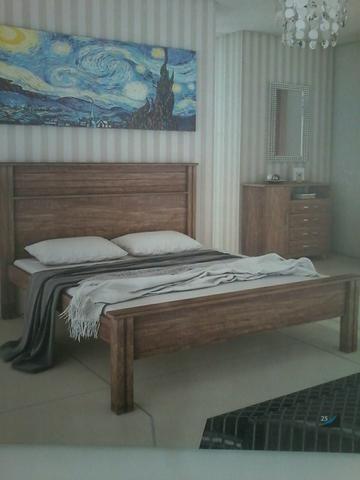 Promocao cama casal (novo)caixa 360,00 no dinheiro entrega e montagem gratis - Foto 3