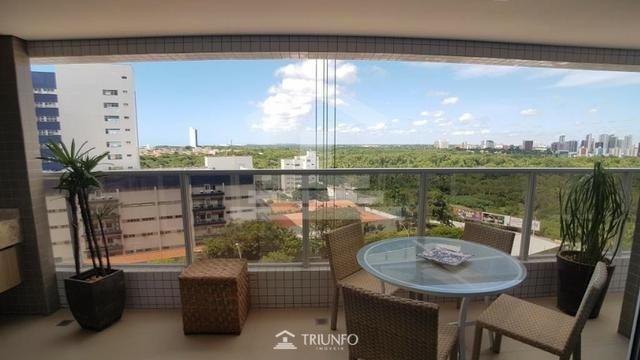 (EXR) Alto padrão! Apartamento à venda no Cocó -> 125m², 3 suítes, 3 vagas [TR12847]