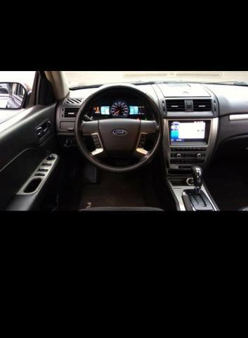 Veículo ford fusion hybrid aut. 2.5 16v 4 p 2011 cor preta perolizado - Foto 10
