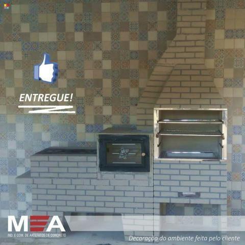 Trio estampado tijolinho pintado é na MA Churrasqueiras - Foto 4
