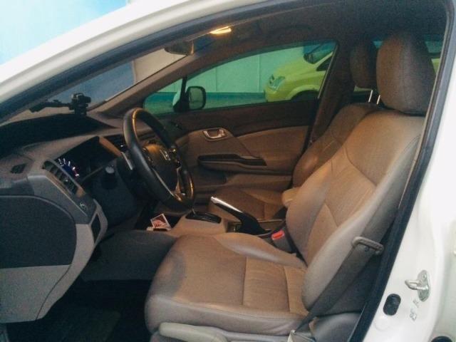 Honda Cívic EXR 2013/2014 Automático impecável - não é de leilão - Foto 4