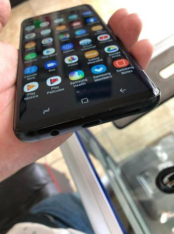 Samsung s9 carregador e fone