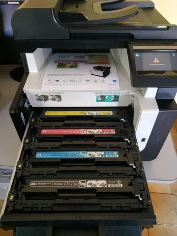 Impressora colorida,leser multifuncional( xerox,impressão,scanner) - Foto 2