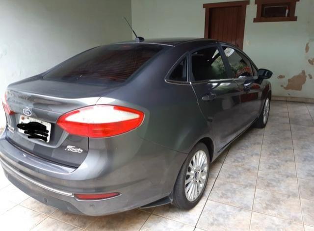 Vendo Fiesta sedan titanium 1.6 flex - Foto 2