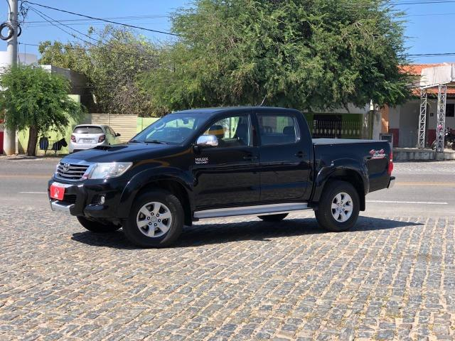 Pick Up Extra! Hilux SRV 2015 Aut 4x4 - F1 Auto Center Caicó/RN - Foto 3