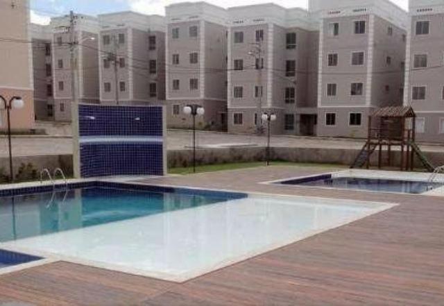 Apartamento 2/4 no Centro em Condomínio Fechado - Foto 3