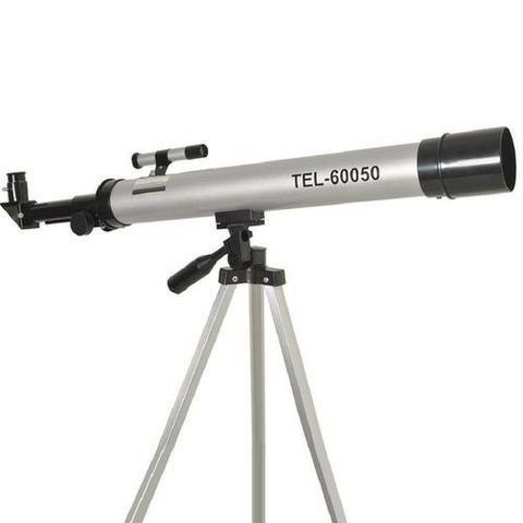 Telescopio Astronomico Refrator Profissional 50/100x Completo - Foto 2