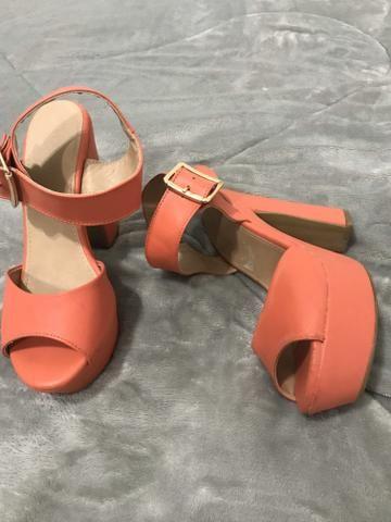 Sandália meia pata TAM 35
