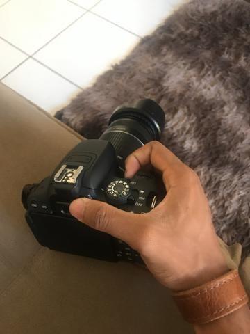 Alça de Couro para Câmera Fotográfica