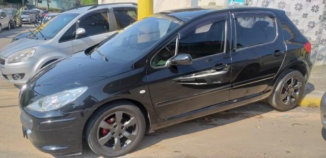 307 Hatch completo GNV 5º geração. Troco/financio 48x