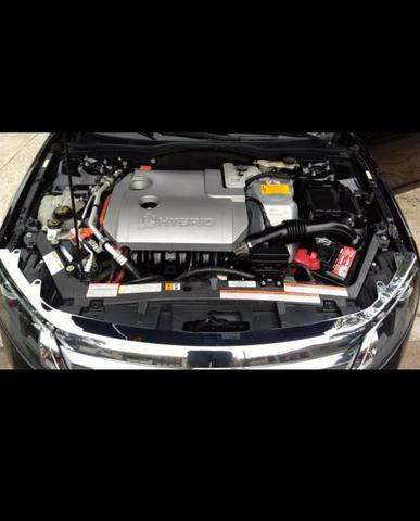 Veículo ford fusion hybrid aut. 2.5 16v 4 p 2011 cor preta perolizado - Foto 6