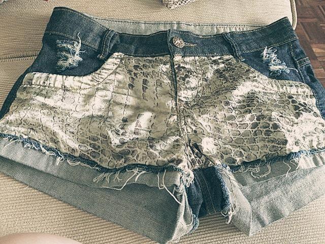 Bermudinha jeans - Foto 2