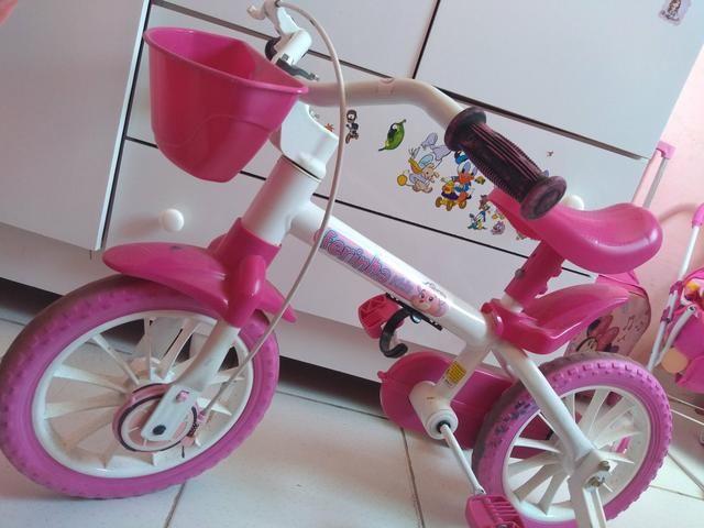 Bicicleta Infantil ferinha kids aro 12 - Foto 2