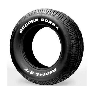 Pneu Cooper Cobra 255/60/15 ss10,cougar,c10,d10,maverick,v8- old garage